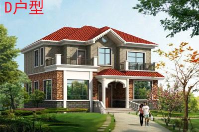 140平农村最漂亮的二层小楼设计图,25万就能盖起来!