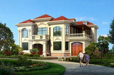 2020农村新式二层楼房设计图,小别墅建起,让城里人羡慕