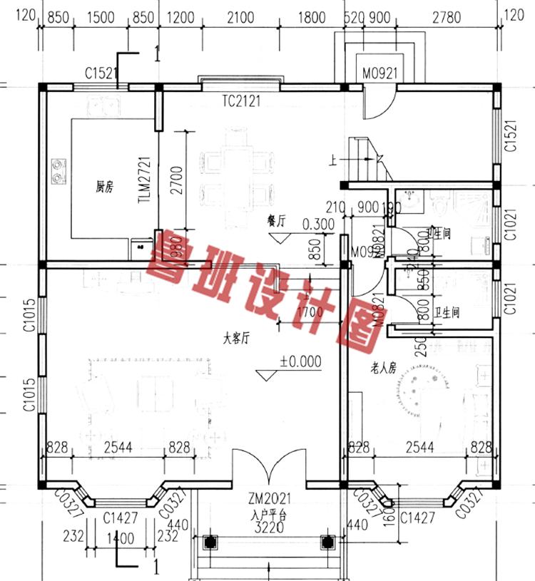 上千套农村小别墅设计图供您挑选,农村自建房屋必看 -带阁楼二层半