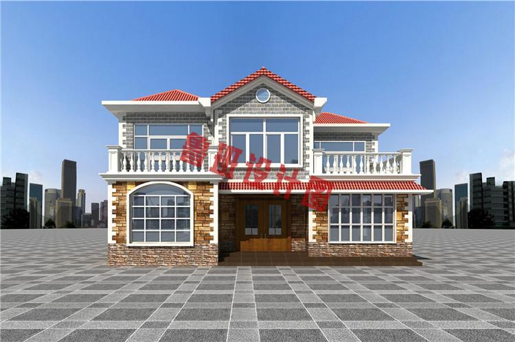 农村自建房房设计背面图