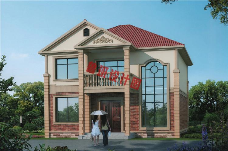 二层楼实景图_农村二层复式小楼房设计图推荐,足够满足老百姓对生活动态的 ...