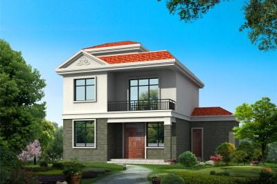 造价10万农村两层房屋设计图,造价15万内。