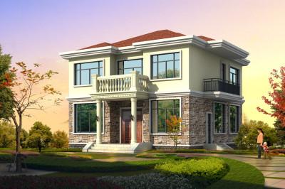 农村二层楼简单图片及设计图,自建一个漂亮、舒适的家。