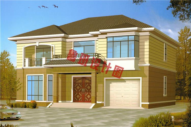 二层别墅设计图效果图