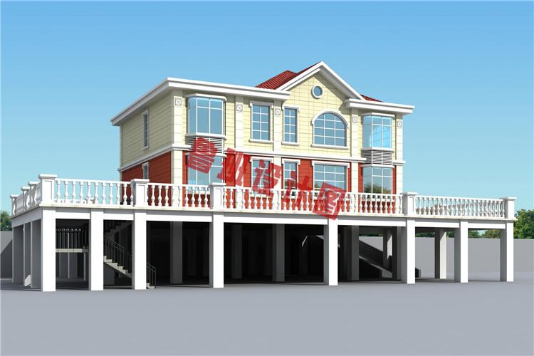 精致实用二层别墅设计图片