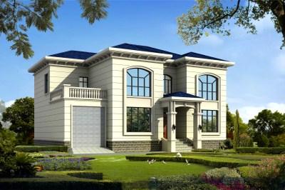 四间二层小楼设计图,造价低实用性强,人人都建得起。