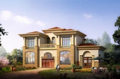 农村自建二层房别墅设计图,适合一般家庭建造
