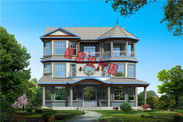 三层新农村住宅设计效果图