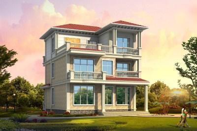 150平农村三层自建楼房设计图,精致漂亮,村里人都抢着建。