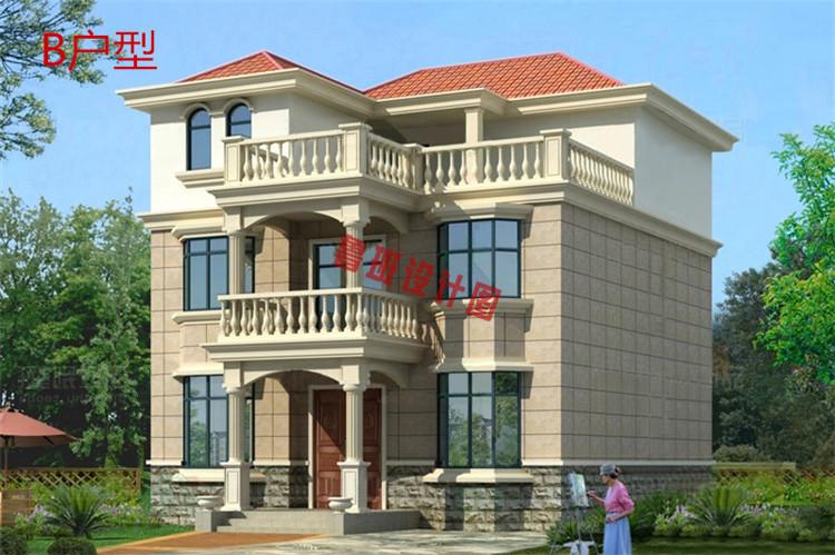 三层自建房设计效果图