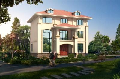 130平米三层自建房设计图,40万造价经济实用