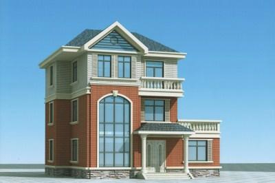 30万新农村三层房屋设计图,含全套图纸和效果图。
