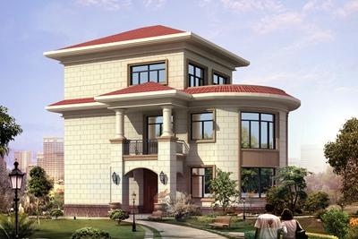 农村20万左右三层住房设计方案,美观实用接地气,大家都喜欢!