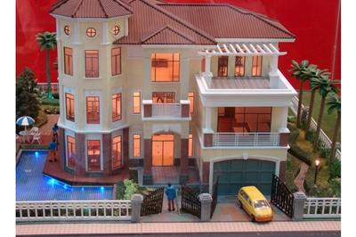 带双车库三层别墅设计图,大面积豪华高端。