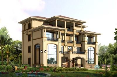 260平大户型四层别墅设计图,带地下室