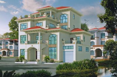 农村自建别墅设计四层户型图,特别适合农村建造。
