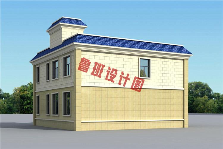 农村别墅设计图纸二层小洋楼,绝对是建房的好选