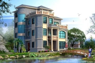四层欧式高端小楼设计图,梦幻城堡风,太高大上了!
