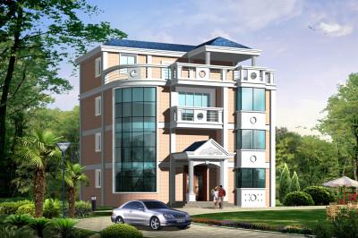 12x12米农村四层小楼设计图,含全套施工图。