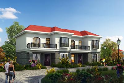 经典小户型二层双拼房屋设计图,精神、时尚,户型紧凑但功能齐全