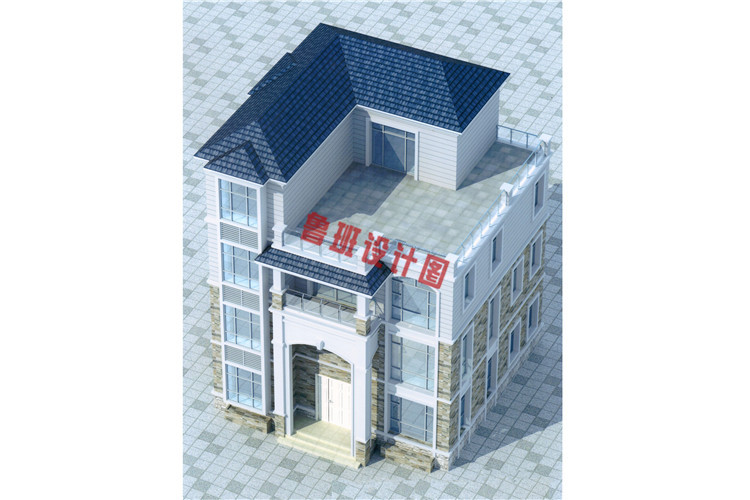 农村四层别墅设计外观图