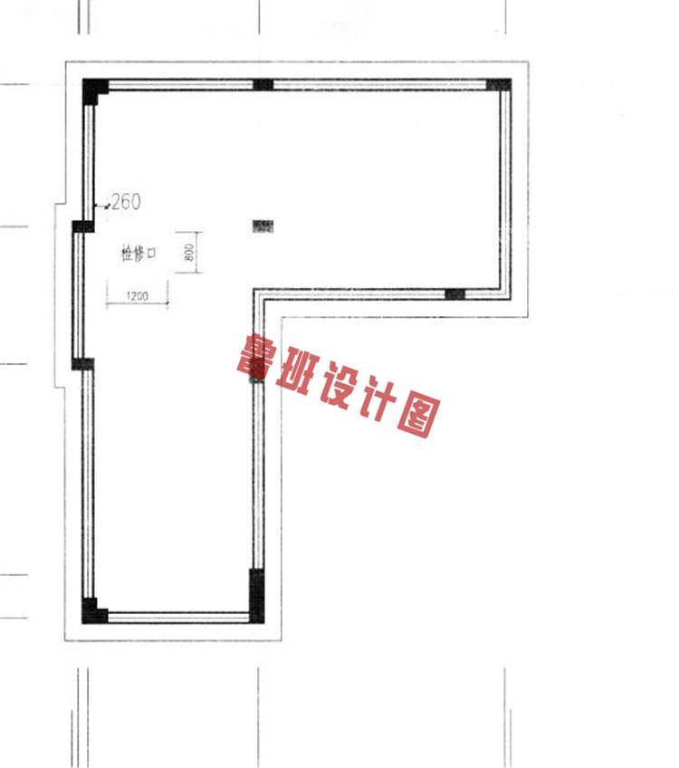 农村四层别墅设计隔热层户型图