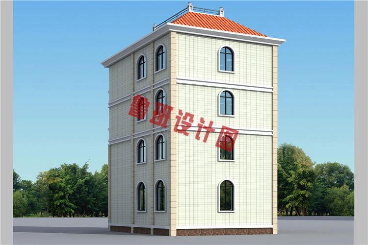 2019农村三层半小别墅设计图,绝对是村里首屈一指的好房子