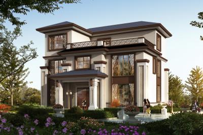 现代三层民房设计图,户型方案合理,不容错过。
