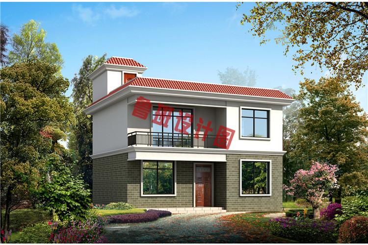 两间二层楼房设计图_农村10万二层楼房设计图,简易外观、实用户型_二层别墅设计图 ...