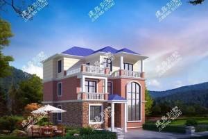 11×11米农村三层别墅户型设计图,江西客户定制