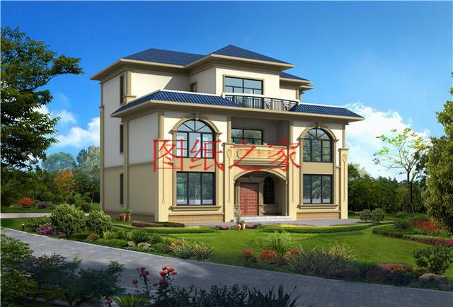 15 11米农村三层别墅设计图,几套方案供选择
