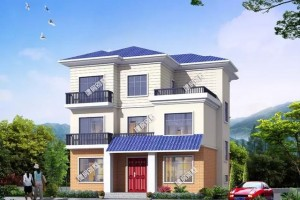 3栋面宽12米的农村自建房三层户型图,各有各的特色