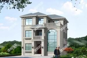 5栋江西别墅设计自建房户型图,江西人有福了
