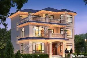 占地100多平的欧式别墅设计方案,街坊四邻的理想住房!
