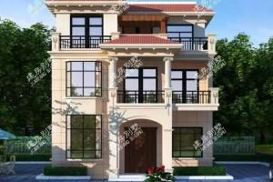 两栋面宽低于10米的农村自建别墅设计方案,小户型也有春天。