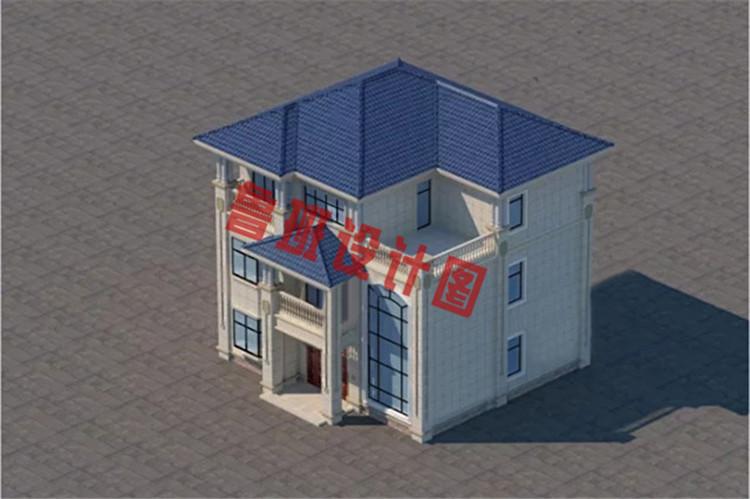 简欧风格三层别墅设计图片
