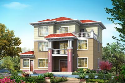 新款170平三层别墅房屋设计图,设计精美大气,布局新颖