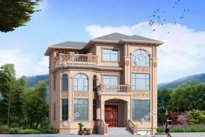 带架空层和地下室的自建别墅设计方案,更加方便舒适。