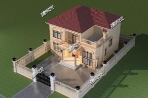造价才30万的农村别墅庭院设计方案,性价比高。