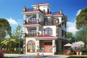 128平美观大气的别墅设计图纸,格外气派!