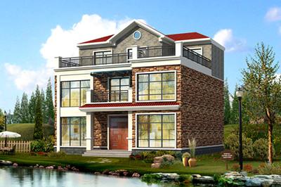 12x11米农村自建楼房小别墅户型设计图,外观好看