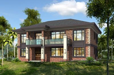 16×10米简单大气二层自建楼房别墅设计图,四间这样设计好