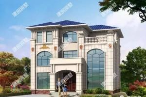 面宽13米的别墅三层设计效果图,好宅旺全家。