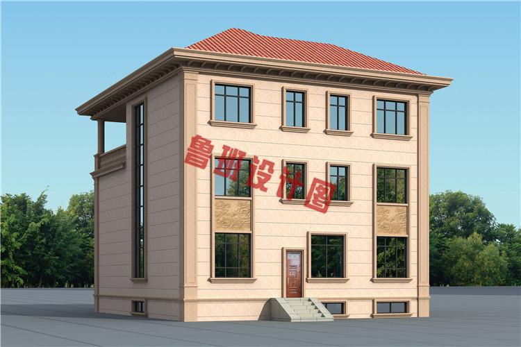 欧式三层别墅设计图片