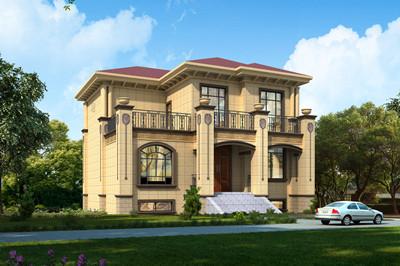12X13米二层别墅房屋设计图,带地下室设计