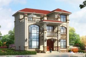 22万农村三层别墅设计方案,建房的不二选择。