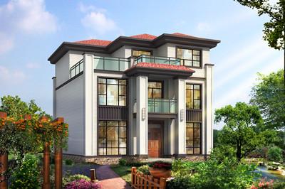 2020新款三层别墅外观图片及设计图,户型很实用