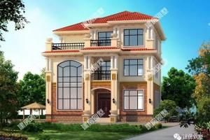 2栋别墅三层设计方案,看一眼就能被迷住的房子!