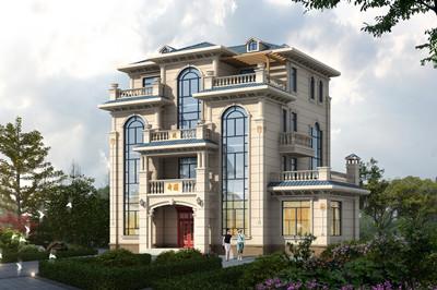 2020年新款豪华四层别墅房屋设计效果图,经典实用够气派