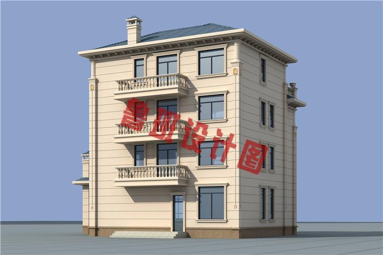 2019年新款四层别墅房屋设计图片